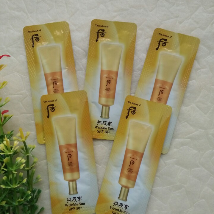 Kem chống nắng Whoo Wrinkle Sun Cream SPF 50 +